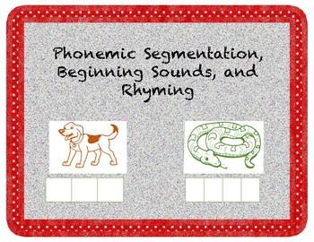 Phonemic Awareness Pack