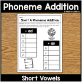 Phonemic Awareness: Phoneme Addition Activity