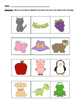 Collection of Phoneme Worksheets - Sharebrowse