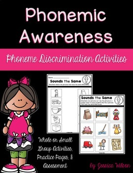 Phonemic Awareness - Phoneme Discrimination