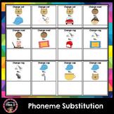 Phonemic Awareness - Phoneme Substitution