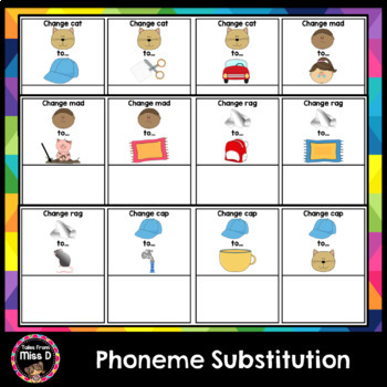 Phonemic Awareness - Phoneme Substitution