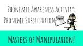 Phonemic Awareness Phoneme Substitution Reading Activity