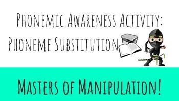 Phonemic Awareness Activity Game