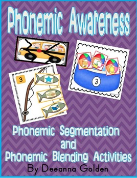 Phonemic Awareness - Phonemic Segmentation and Phonemic Blending Activities