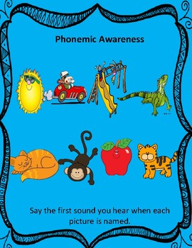 Phonemic Awareness, Phonics, Vocabulary, Fluency