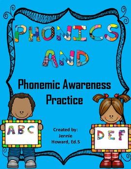 Phonemic Awareness, Phonics, Vocabulary, Fluency
