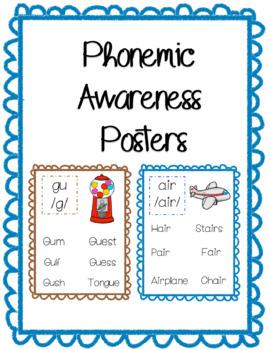 Phonemic Awareness Posters