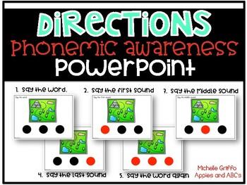 Phonemic Awareness PowerPoint- (GROWING BUNDLE- CVC Words PowerPoint)