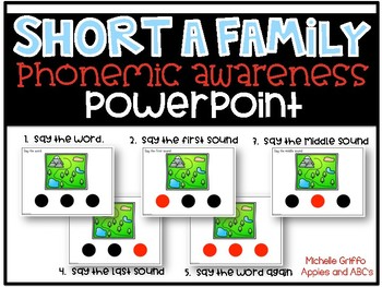 Phonemic Awareness PowerPoint- (Short A CVC Words PowerPoint)
