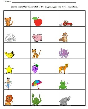 Phonemic Awareness Practice