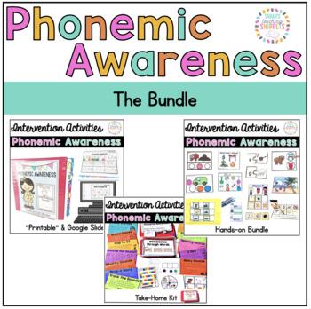 Phonemic Awareness RTI BUNDLE