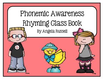Phonemic Awareness ~ Rhyming Class Book