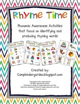 Phonemic Awareness - Rhyming Time