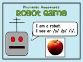 Phonemic Awareness Robot Game - Blending Sounds to Make Words