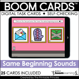 Phonemic Awareness Same Beginning Sound Boom Cards™ for Ki