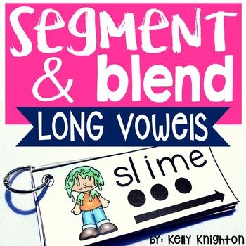 Phonemic Awareness Segmenting and Blending Long Vowels and Vowel Teams