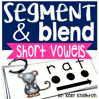 Phonemic Awareness Segmenting and Blending Short Vowels