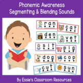 Phonemic Awareness - Segmenting and Blending Sounds (CVC)