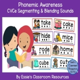 Phonemic Awareness - Segmenting and Blending Sounds (CVCe)