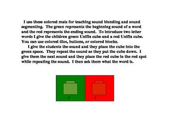 Phonemic Awareness Sound Blending/Segmenting