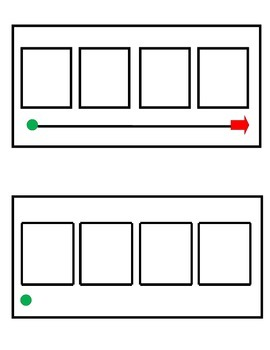 Phonemic Awareness Sound Boxes (4 squares)