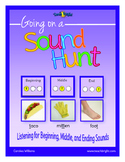 Phonemic Awareness Sound Hunt