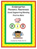 Phonemic Awareness Sound Segmenting/Blending Activity Mats