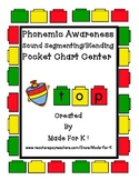 Phonemic Awareness Sound Segmenting/Blending Pocket Chart Center