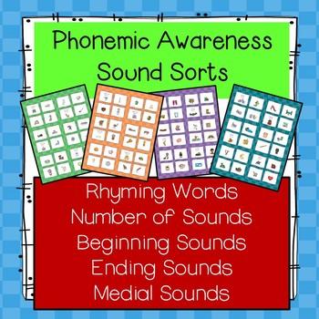 Phonemic Awareness Sound Sorts