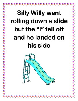 Phonemic Awareness Story- Silly Willy