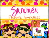 Phonemic Awareness- Summer Phoneme Segmentation
