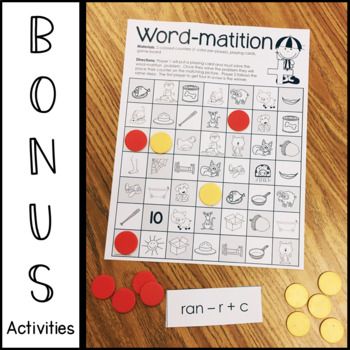Phonemic Awareness Toolbox - BUNDLE {Small Group, Centers, Games and Activities}