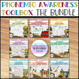 Phonemic Awareness Toolbox - BUNDLE {Small Group, Centers,
