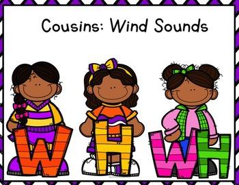 Phonemic Awareness  Activities: Wind Sounds - W, H & WH