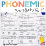Phonemic Awareness - Systematic, Explicit Instruction for Primary Students #1