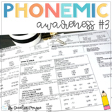 Phonemic Awareness - Systematic, Explicit Instruction for Primary Students #3