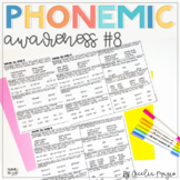Phonemic Awareness - Systematic, Explicit Instruction for Primary Students #8