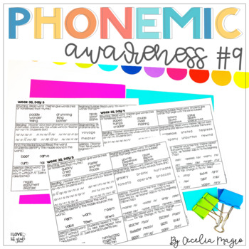 Phonemic Awareness - Systematic, Explicit Instruction for Primary Students #9