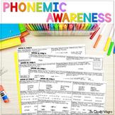 Phonemic Awareness Systematic, Explicit Instruction BUNDLE