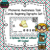 Phonemic Awareness Task Cards: Beginning Digraphs Set 1