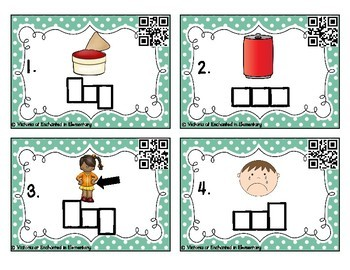 Phonemic Awareness Task Cards: CVC Blending Set 2