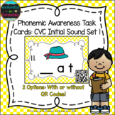 Phonemic Awareness Task Cards: CVC Initial Sound Set 1