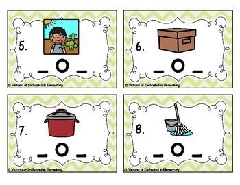 Phonemic Awareness Task Cards: CVC Short O Set