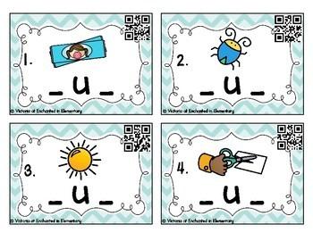 Phonemic Awareness Task Cards: CVC Short U Set
