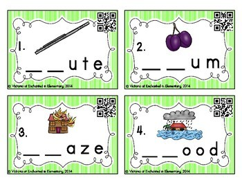Phonemic Awareness Task Cards: L-blends Set 2