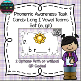 Phonemic Awareness Task Cards: Long I Vowel Teams: ie, igh