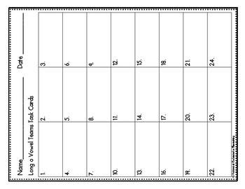 Phonemic Awareness Task Cards: Long O Vowel Teams: oe, oa, ow