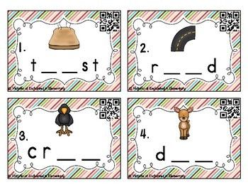 Phonemic Awareness Task Cards: Long O Vowel Teams: oe, oa, ow