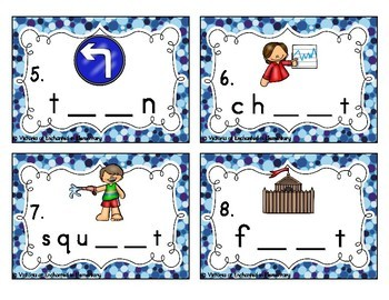 Phonemic Awareness Task Cards: R-Controlled Vowels Set 1